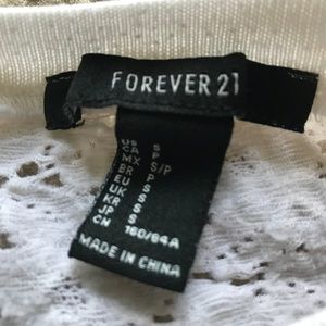 Forever 21 Sweaters - Forever 21 Lace Back Sweater - Small